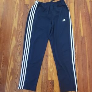 Adidas Mens LARGE BLUE SWEATPANTS in excellent use